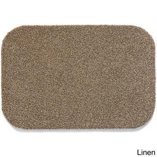 Muddle Black Polyethylene Heavy-duty Outdoor Mat