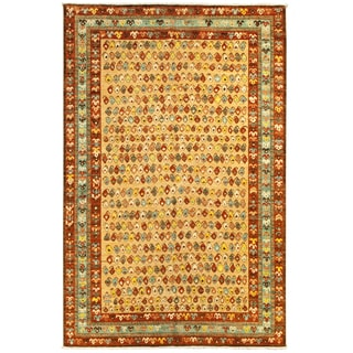 ARZU Hand-knotted Wool Rug (6'2 x 8'9)