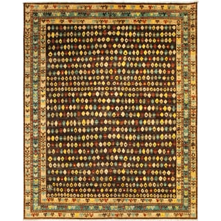 ARZU Hand-knotted Wool Rug (8' x 9'6)