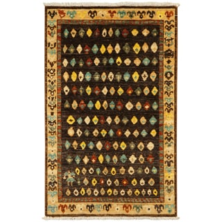 ARZU Hand-knotted Wool Rug (2'7 x 4')