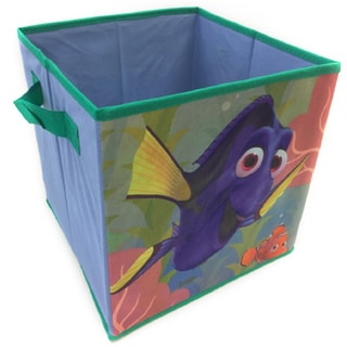 'Finding Dory' Blue Polyester Collapsible Storage Cube