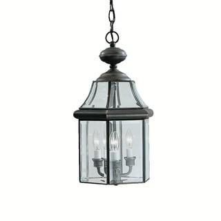 Kichler Lighting Embassy Row Collection 3-light Olde Bronze Outdoor Pendant