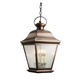 Kichler Lighting Mount Vernon Collection 4-light Olde Bronze Outdoor Pendant