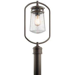 Kichler Lighting Lyndon Collection 1-light Architectural Bronze Outdoor Post Mount