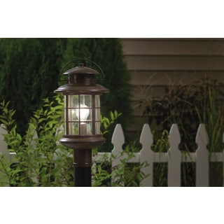 Kichler Lighting Rustic Collection 1-light Rustic Outdoor Post mount