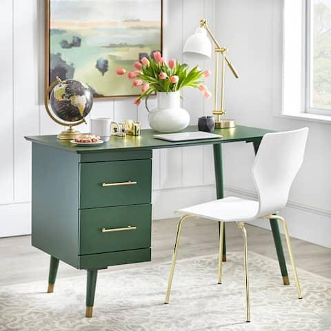 angelo:HOME Leon Mid-century 2-drawer Desk