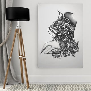 Dmitry Andruz 'ABSTRACT I' Wall Art On Canvas