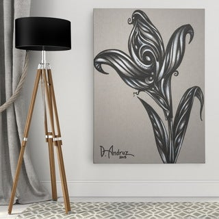 Dmitry Andruz 'Floral Sketch' Wall Art On Canvas
