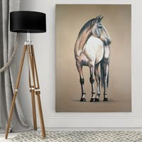 Dmitry Andruz 'Equine Sketch I' Wall Art On Canvas