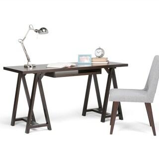 WYNDENHALL Hawkins Desk (Option: Chestnut Finish)