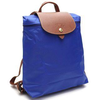 Longchamp Le Pliage Blue Foldable Backpack
