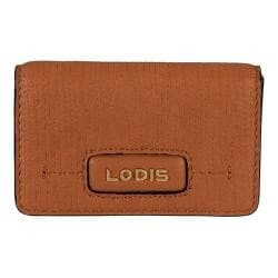 Women's Lodis Cordoba Mini Card Case Toffee