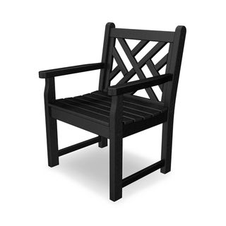 Link to POLYWOOD? Chippendale Garden Arm Chair Similar Items in As Is