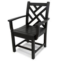 POLYWOOD Chippendale Outdoor Dining Arm Chair