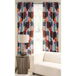 SIScovers PoloGear Boho Polyester Blend Window Curtain Panel