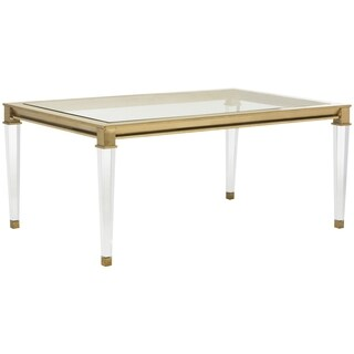 Safavieh Couture High Line Collection Charleston Acrylic Coffee Table