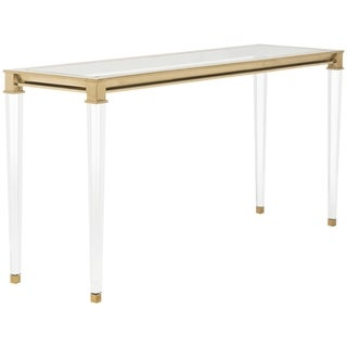 Safavieh Couture High Line Collection Charleston Acrylic Console Table