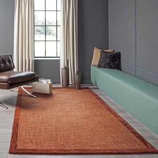 "Hand-Tufted Cosmopolitan Boucle Wool Rug (3'6""x 5'6"")"