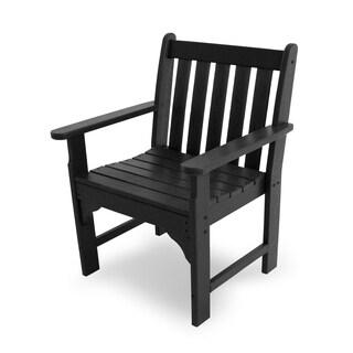 POLYWOOD Vineyard Polyethylene Garden Arm Chair