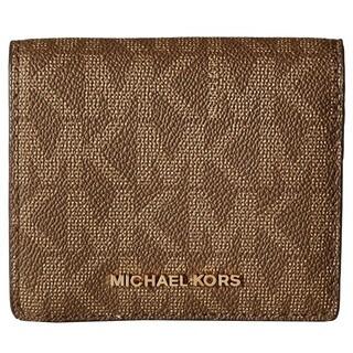 Michael Kors Mocha Signature Carryall Card Case