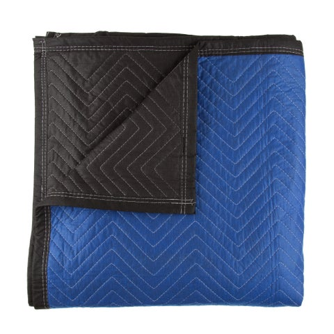 Moving Blanket for Protecting Furniture- Heavy Duty Recycled Cotton Padded Tarp by Stalwart