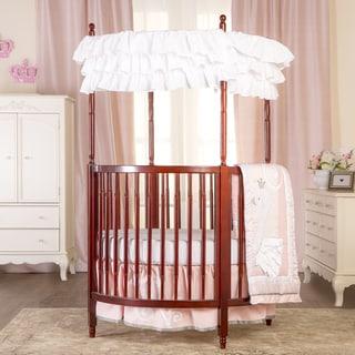 Dream On Me Sophia Espresso Wood Posh Circular Crib