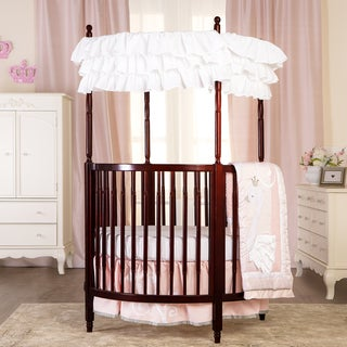 Dream On Me Sophia Cherry Finish Wood Posh Circular Crib