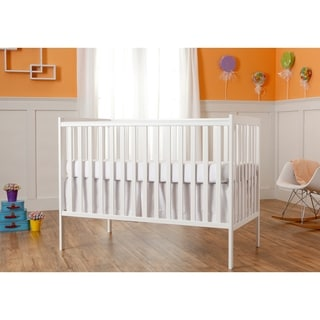 Dream On Me Synergy White 5-in-1 Convertible Crib