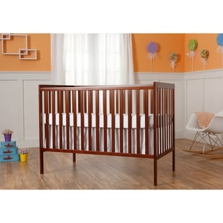 Dream On Me Synergy Espresso 5-in-1 Convertible Crib
