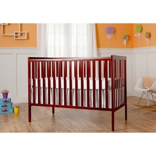 Dream On Me Synergy Cherry 5-in-1 Convertible Crib