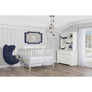 Dream On Me Alissa White Convertible 4-in-1 Crib