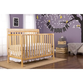 Dream On Me Alissa Convertible 4 in 1 Crib - Natural