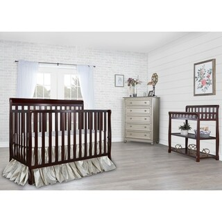 Dream On Me Alissa Espresso 4-in-1 Convertible Crib