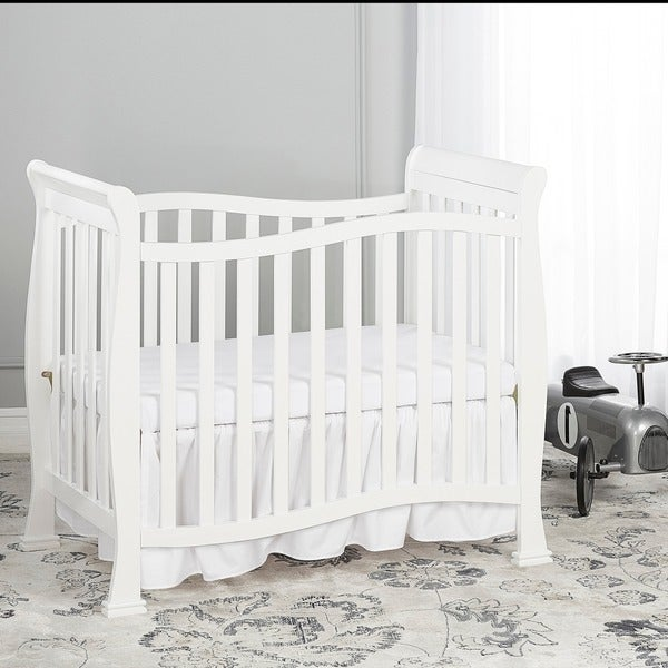 on me piper solid colored wood 4 in 1 convertible mini crib free shipping today