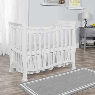 Dream on Me Piper Solid-colored Wood 4-in-1 Convertible Mini Crib|https://ak1.ostkcdn.com/images/products/13804893/P20454009.jpg?impolicy=medium