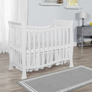 Dream on Me Piper Solid-colored Wood 4-in-1 Convertible Mini Crib (Option: White)