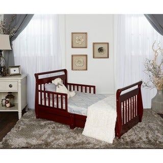 Dream On Me, Sleigh Toddler Bed w/ Storage Drawers