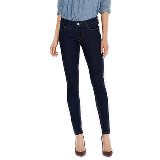 Levi's Women's 535 Dark Blue Cotton Legging Jeans