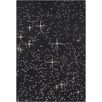 Artist's Loom Hand-Tufted Contemporary Dots Pattern Wool Rug (8'x10')