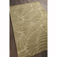 "Artist's Loom Hand-tufted Transitional Floral Pattern Wool Rug (7'9""x10'6"")"