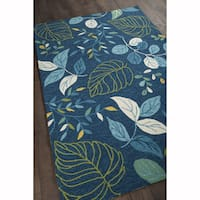 "Artist's Loom Hand-tufted Transitional Floral Pattern Rug (7'9""x10'6"")"