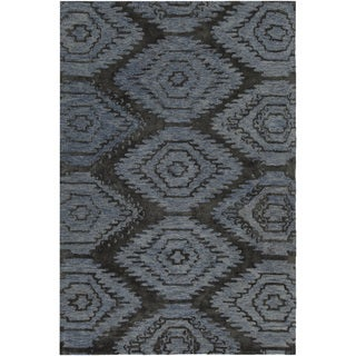 "Artist's Loom Hand-tufted Contemporary Geometric Pattern Rug (7'9""x10'6"")"