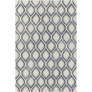 """Artist's Loom Hand-tufted Contemporary Geometric Pattern Rug (7'9""""x10'6"""")"""