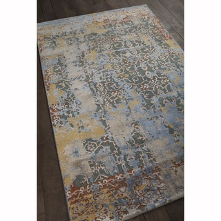 "Artist's Loom Hand-knotted Vintage Oriental Pattern Rug (5'x7'6"")"