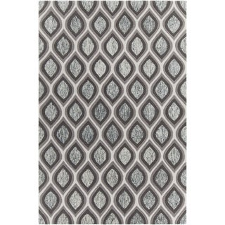 "Artist's Loom Hand-tufted Contemporary Geometric Pattern Rug (5'x7'6"")"