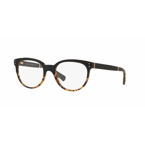 582750471328 Shop Coach Womens HC6084Q 5382 Havana Plastic Phantos Eyeglasses ...