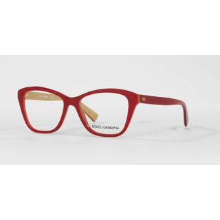 Dolce & Gabbana Womens DG3249F 2968 Plastic Square Eyeglasses