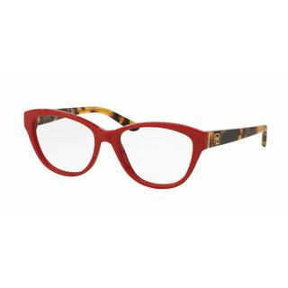 Ralph Lauren Womens RL6145 5599 Plastic Rectangle Eyeglasses