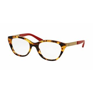 Tory Burch Womens TY2059 1521 Havana Plastic Cat Eye Eyeglasses
