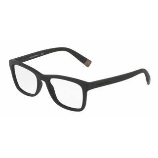 Dolce & Gabbana Mens DG5019 1934 Plastic Rectangle Eyeglasses